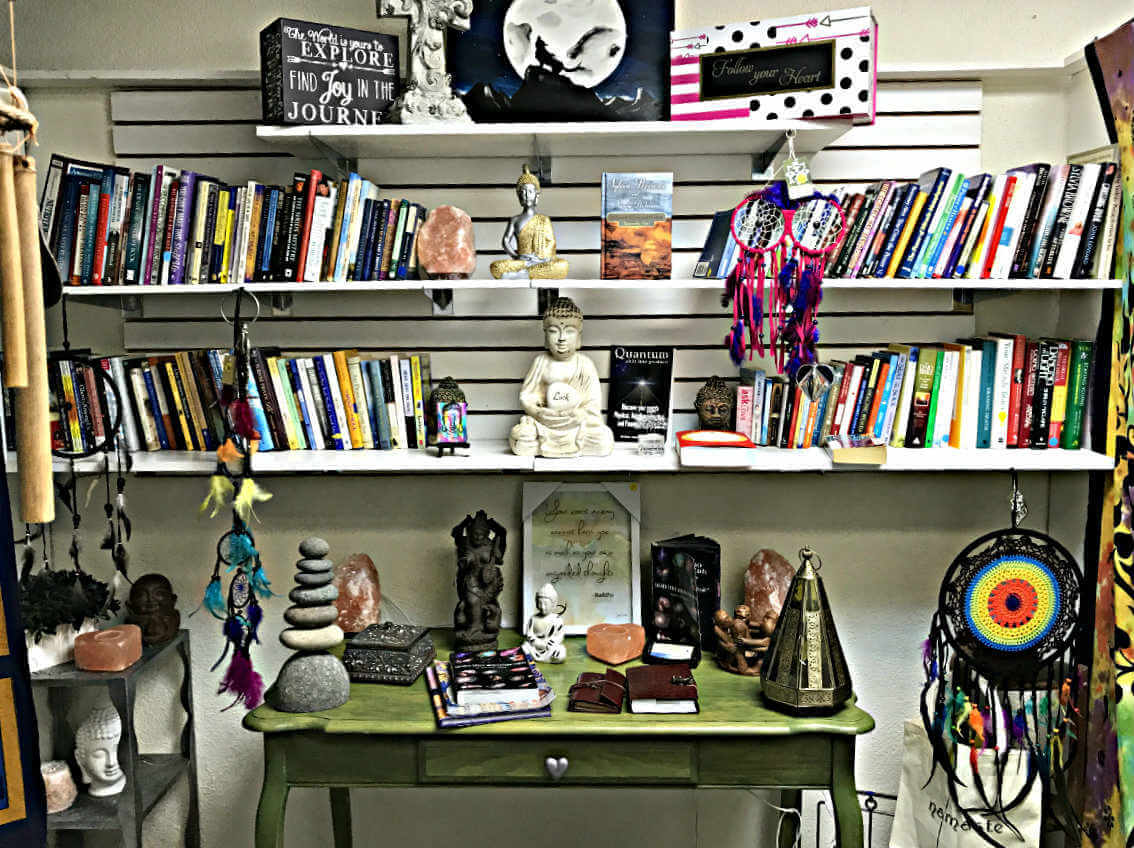 books at our metaphysical new age store